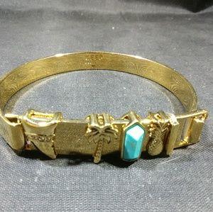 Keep collective charm bracelet four charms